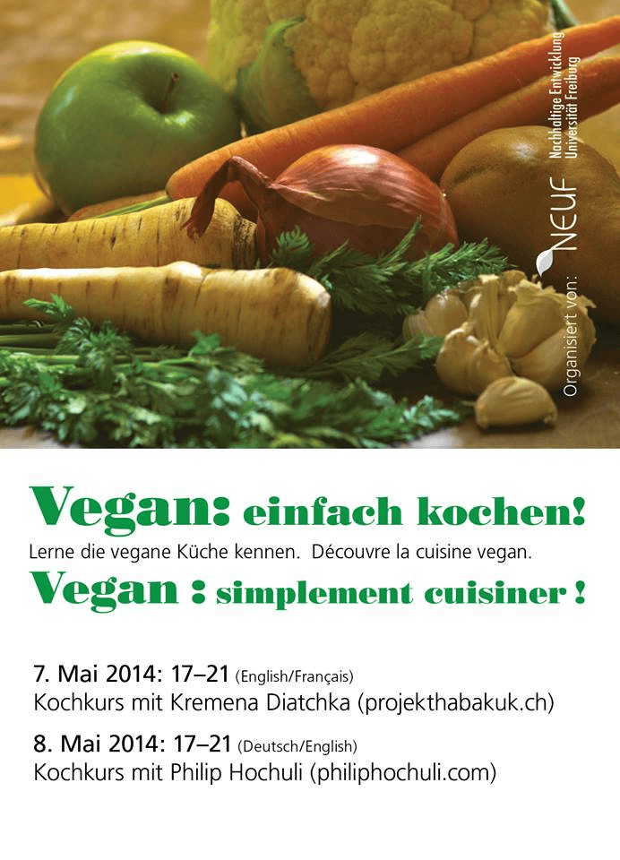 Veganer Kochkurs NEUF 1